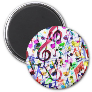 Música Apprecition_ Imán Redondo 5 Cm