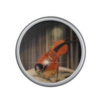 Música artsy del violín altavoz
