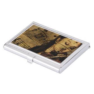 Música artsy del violín caja de tarjetas de visita