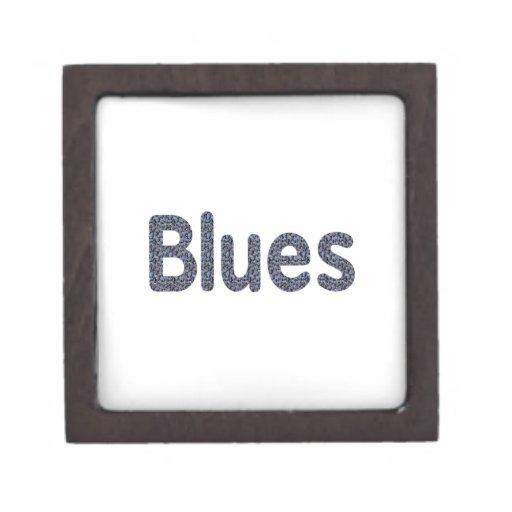 Música azul copy.png del modelo de la roca de la p caja de regalo de calidad