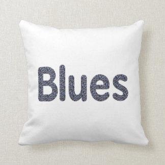 Música azul copy.png del modelo de la roca de la p cojín