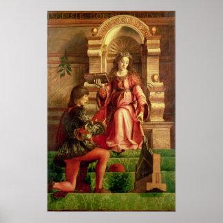 Música, c.1480 póster