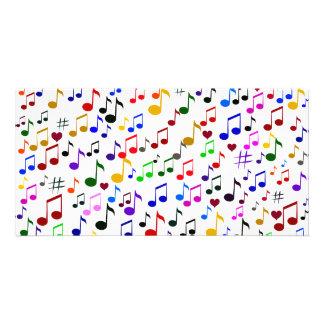Música con Love_ Tarjetas Personales Con Fotos