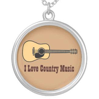 Música country colgante redondo