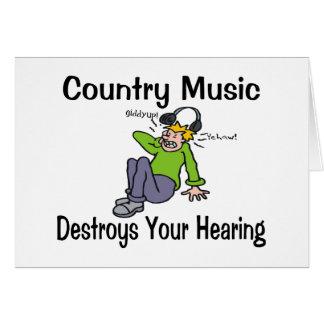 Música country felicitaciones