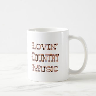Música country tazas