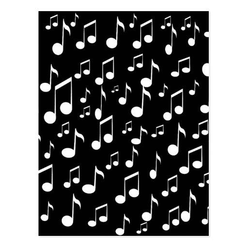 Música Creator_ Tarjeta Postal