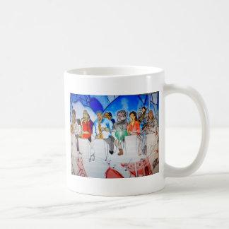 Música de big band tazas de café