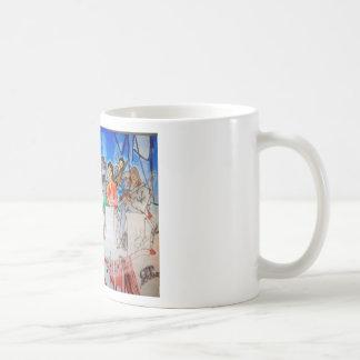 Música de big band taza de café