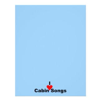 """Música de Bluegrass: Canciones de la cabina I (del Folleto 8.5"""" X 11"""""""