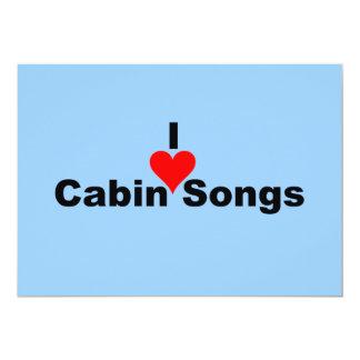 Música de Bluegrass: Canciones de la cabina I (del Invitación 12,7 X 17,8 Cm