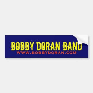 Música de Bobby Doran - pegatina para el parachoqu Etiqueta De Parachoque