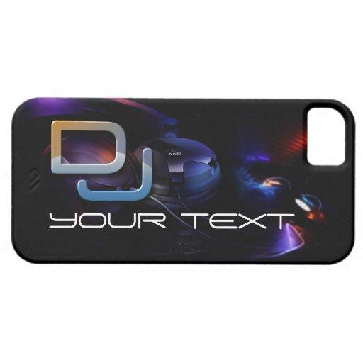Música de DJ iPhone 5 Funda