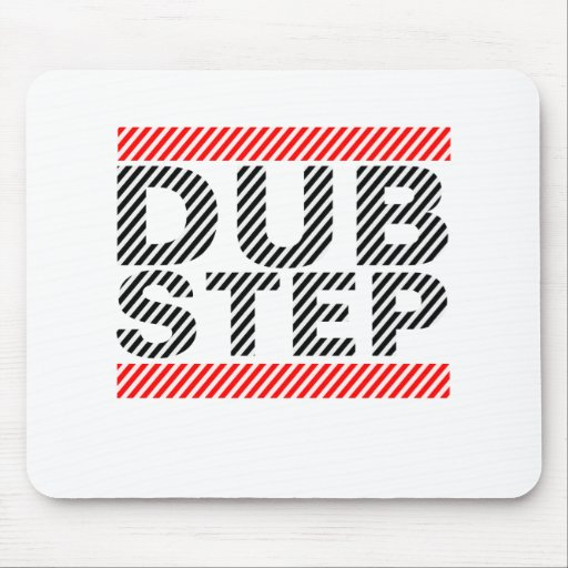 Música de Dubstep Alfombrillas De Ratón