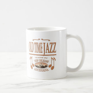Música de jazz de New Orleans Tazas
