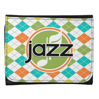 Música de jazz; Modelo colorido de Argyle
