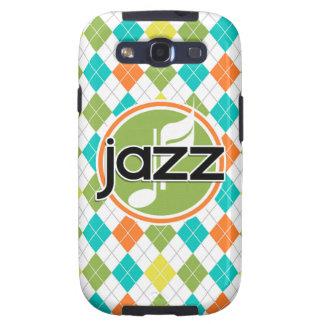 Música de jazz; Modelo colorido de Argyle Galaxy SIII Carcasa