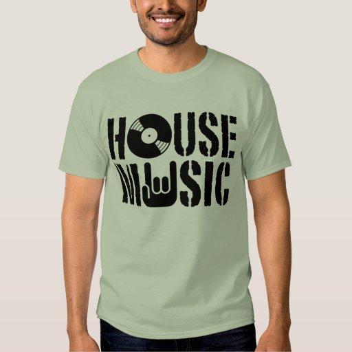 Música de la casa camisas