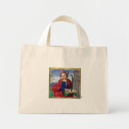 Música de la lectura de la mujer bolsas lienzo
