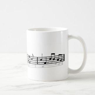 música de la mañana tazas