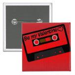 Música de la tarjeta del día de San Valentín Pin