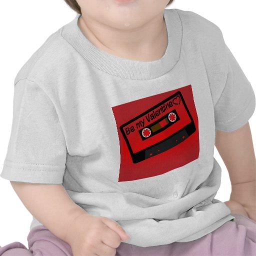 Música de la tarjeta del día de San Valentín Camisetas
