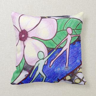 Música de las magnolias - almohada de tiro
