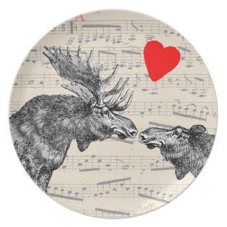 """Música de los alces """"el sonido corazón cariñoso de plato de cena"""