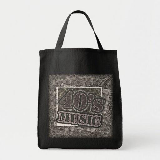 Música de los años 40 del vintage - bolsos bolsa