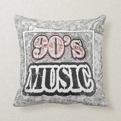 Música de los años 90 del vintage - almohada