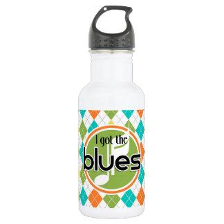 Música de los azules; Modelo colorido de Argyle