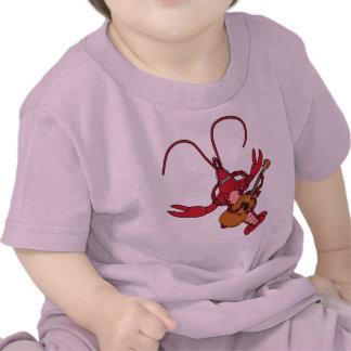 Música de los cangrejos camiseta