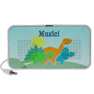 ¡Música de los dinosaurios del dibujo animado! Min Sistema Altavoz