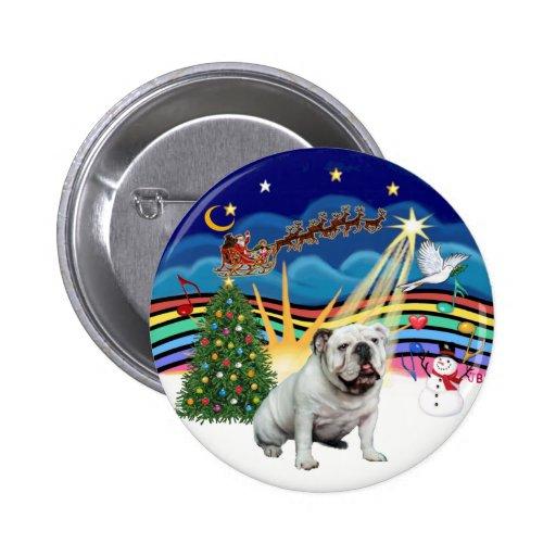 Música de Navidad (R-3) - dogo inglés Pins