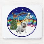 Música de Navidad (R-3) - dogo inglés Alfombrilla De Raton