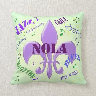 Música de NOLA New Orleans Almohadas