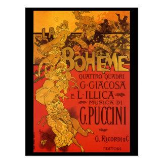 Música de Nouveau del arte del vintage Ópera de B