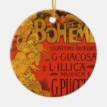 Música de Nouveau del arte del vintage; Ópera de B Ornamento De Reyes Magos