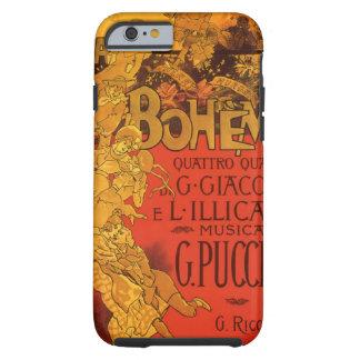 Música de Nouveau del arte del vintage; Ópera de Funda De iPhone 6 Tough