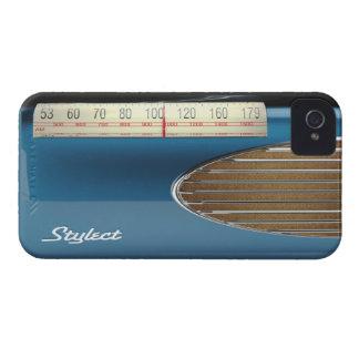 Música de radio retra de los mediados de siglo de iPhone 4 protectores
