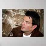 Música de Ryan Kelly - chaqueta de cuero del carte Posters