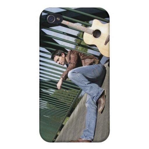 Música de Ryan Kelly - iPhone 4 - guitarra iPhone 4 Carcasa