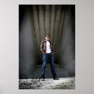 Música de Ryan Kelly - poster firmado - Warehous