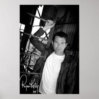 Música de Ryan Kelly - poster firmó - escalera