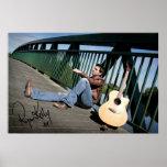Música de Ryan Kelly - poster - guitarra firmada