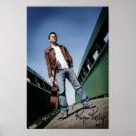 """Música de Ryan Kelly - poster - puente - """"firmado"""