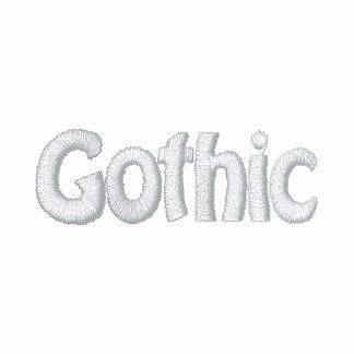 Música de Twinty Foor 7ven/Gothic Sudadera Bordada Con Cremallera