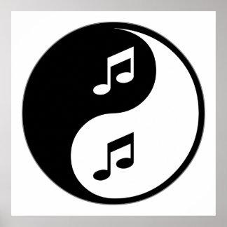 Música de Yin Yang Impresiones