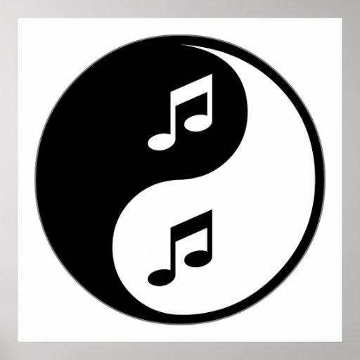 Música de Yin Yang Póster