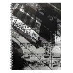 música, decoración del piano (10) notebook